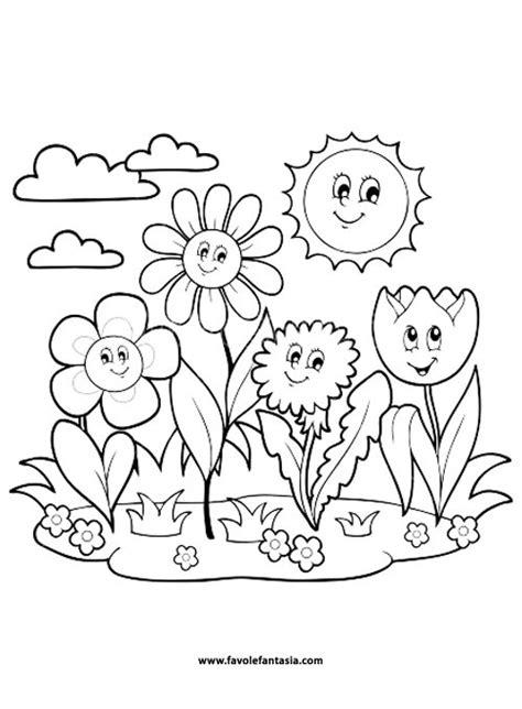 fiori da colorare e stare disegni da colorare fiori di primavera 28 images