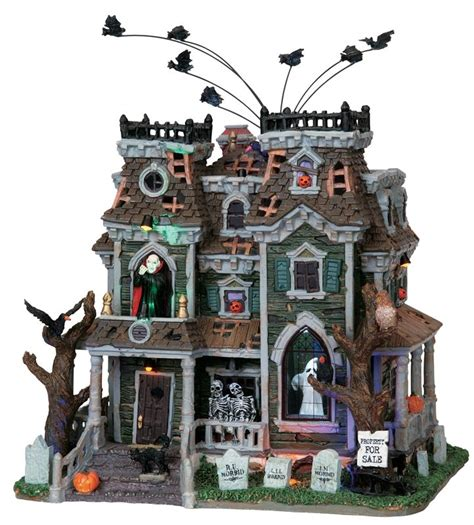 lemax halloween houses 61 best images about lemax wishlist on pinterest christmas villages haunted houses