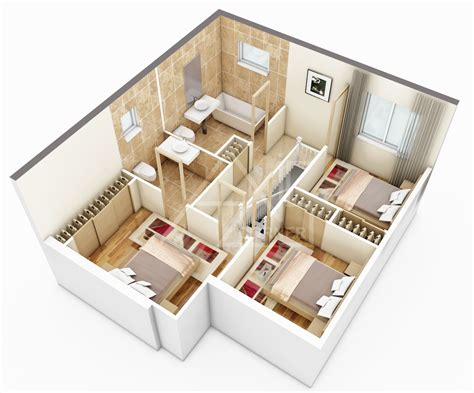 3d architectural floor plans rendering portfolio 3d