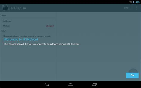 pentest apk sshdroid android apps on play