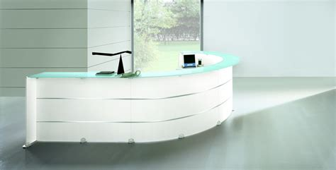Glass Reception Desk Glass Reception Desk Richardsons Office Furniture And Supplies