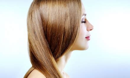 groupon haircut and color haircut and color or highlights trompe l oeil salon