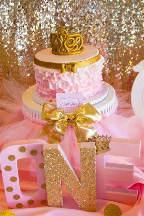 gold birthday themes 12 must see pink and gold parties catch my party