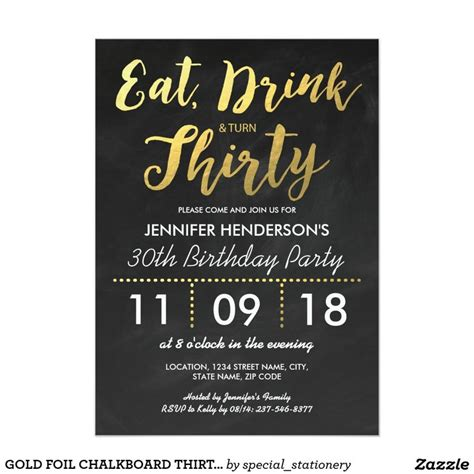 best 25 30th birthday invitations ideas on pinterest