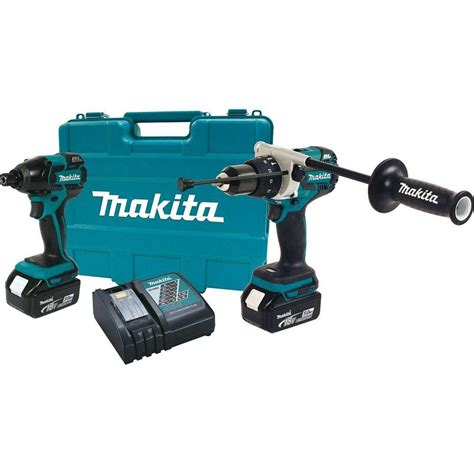 makita 18 volt lxt lithium ion cordless combo kit 5 tool