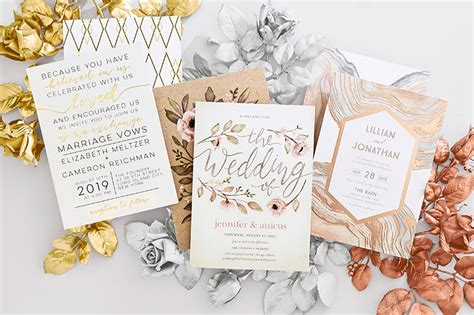 shops that sell wedding invitations wedding invitations david s bridal