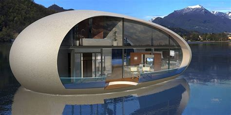 The floating holiday home shaped like an egg   Daily Mail