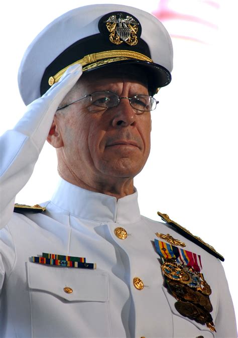 Cno Description by File Us Navy 070508 N 4965f 007 Chief Of Naval Operations Cno Adm Mike Mullen Salutes As The