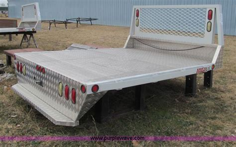 Flatbed Headache Rack by Highline Aluminum Flatbed No Reserve Auction On