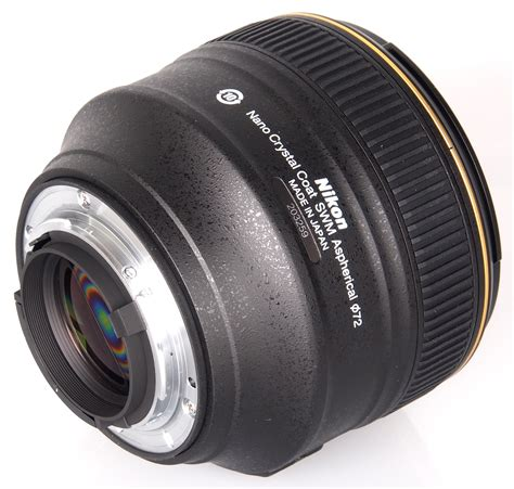 Nikon Af S 58mm F1 4g nikon af s nikkor 58mm f 1 4g lens review