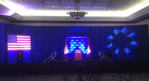event drapery atlanta impact trump hires impact events atlanta for his stage