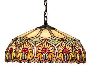 Stained Glass Hanging L by Style Hanging Pendant L Stained Glass 2 Light