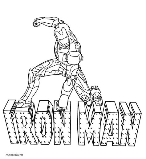 Iron Man Cartoon Coloring Pages Adultcartoon Co Iron Colouring Pages To Print