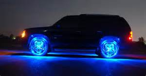 car with lights light up your dubs with the motionlite