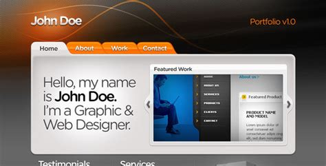 Web Designer Portfolio Template By Kaisersosa Themeforest Web Developer Portfolio Templates