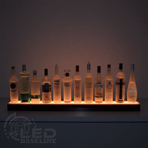 led bar shelves best led bar shelves and led liquor shelf collection