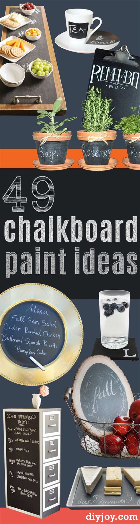 chalkboard paint craft projects 52 diy chalkboard paint ideas for furniture and decor