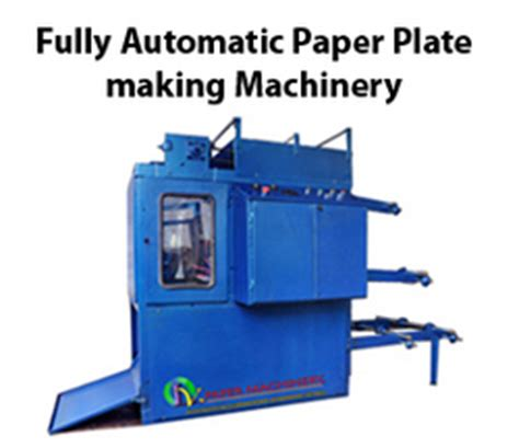 Paper Plate Machine Manufacturers - lv paper machinery manufacturer trader of paper plate