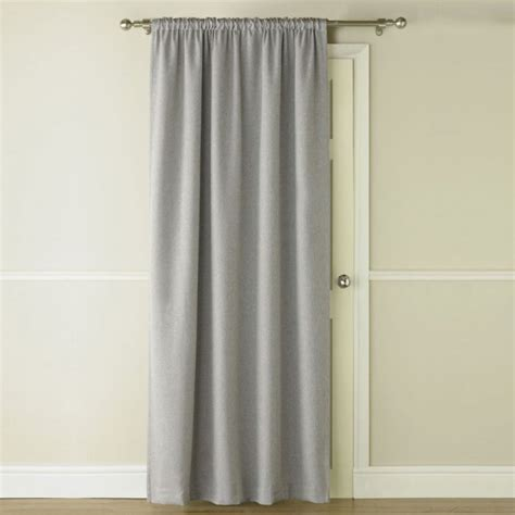 door blackout curtains blackout thermal grey door curtain tonys textiles