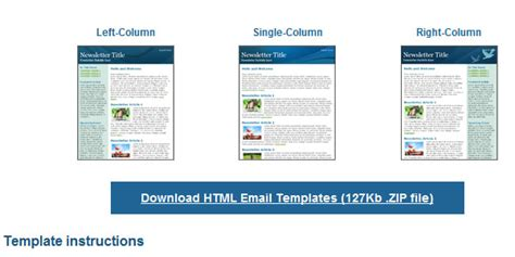 fancy email templates fancy email templates 25 completely free html email