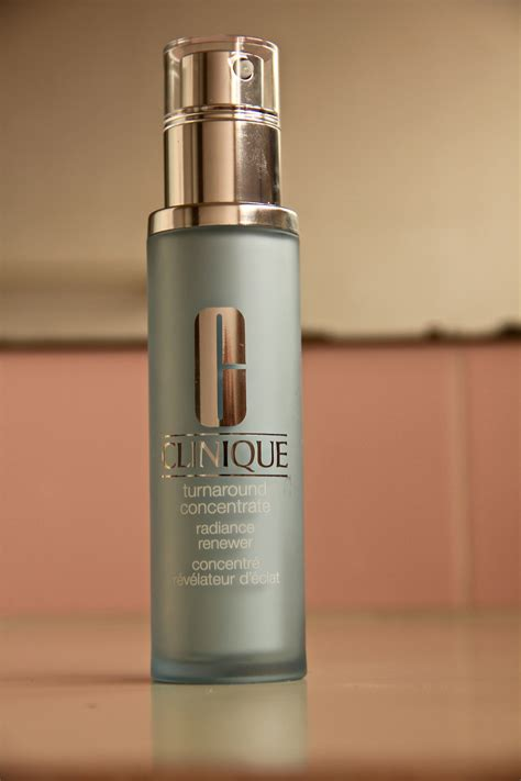 Serum Clinique review clinique turnaround concentrate radiance renewer serum fishing for fashion