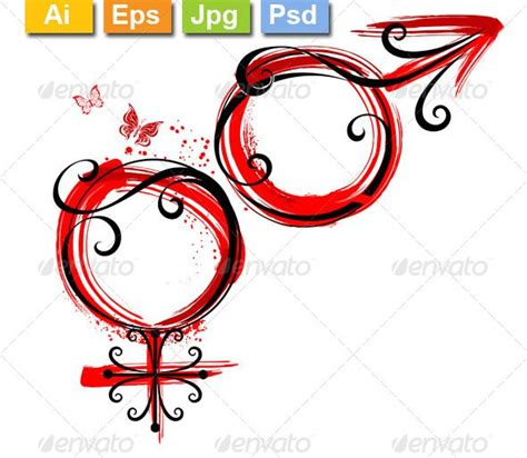 female symbol tattoo and symbol designs and