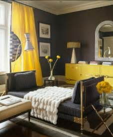 Yellow Color Home Design Black And Yellow Bold And Splendid Color Combination