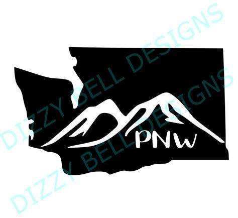 washington state mountain skyline file pnw digital