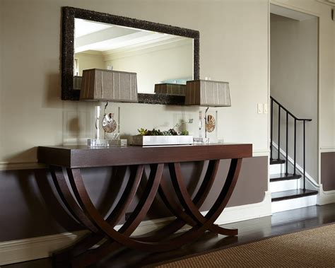 Sensational Rattan Console Table Decorating Ideas Images Sofa Table Decorations