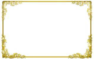 graphics for transparent gold border graphics www