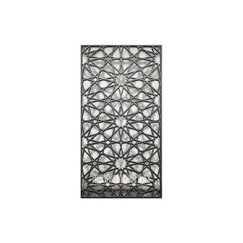 islamic geometric lattice pattern moroccan decorative screens