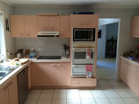 1980s kitchen a 1980s kitchen renovation out with the pink in with the