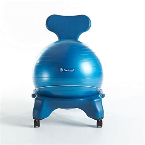 gaiam balance ball chair ocean sporting goods exercise fitness exercise balls