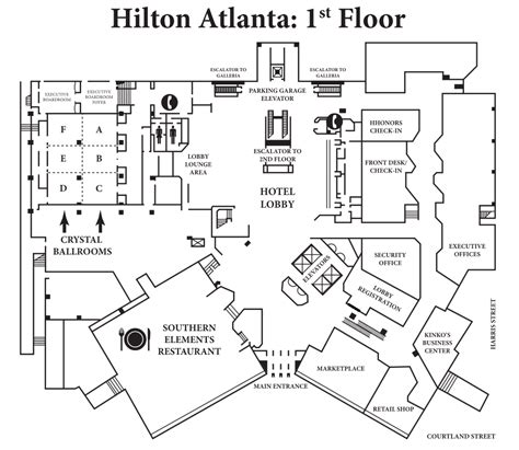 floor plan hotel a saga con maps edition