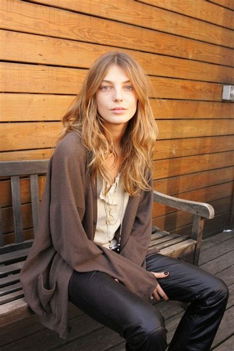 does daria werbowy has long layers in her haircut 17 best images about one and only daria werbowy on