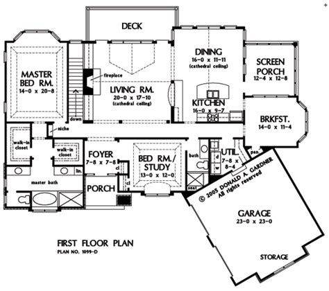 two story with walkout basement home design