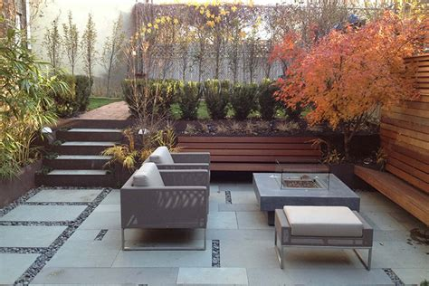 modern small backyard modern backyard design ideas montreal outdoor living