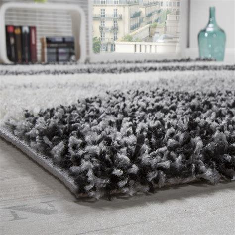 teppich shaggy shaggy geometrisch gemustert grau hochflor teppiche