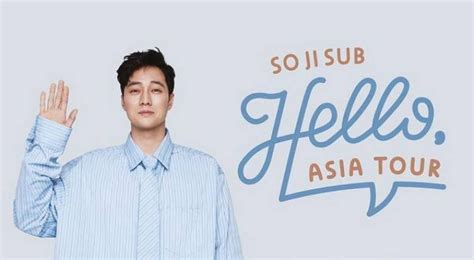 so ji sub fan meeting 2019 manila so ji sub gelar fan meeting di jakarta pada maret 2019