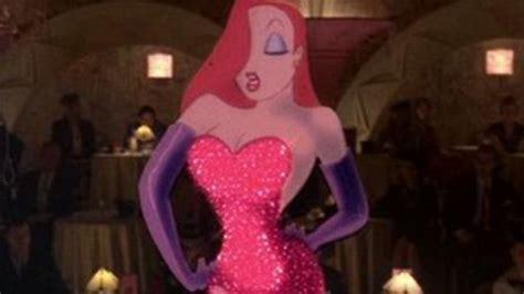 Le déguisement de Jessica rabbit dans le film Qui veut la ... Who Framed Roger Rabbit Jessica Rabbit Scene