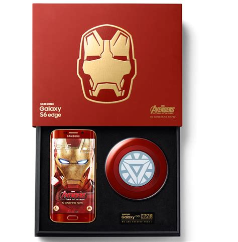 Samsung Galaxy S6 Ironman Edition samsung galaxy s6 edge iron limited edition announced