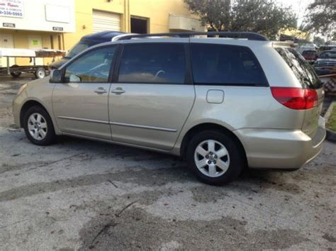 active cabin noise suppression 2004 toyota sienna engine control purchase used 2004 toyota sienna xle limited mini passenger van 5 door 3 3l in fort lauderdale