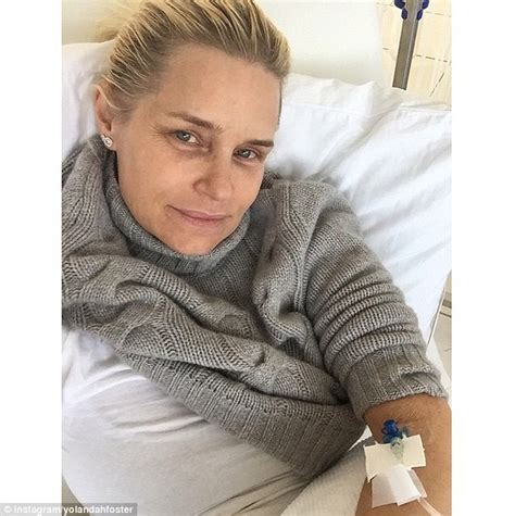how long has yolanda foster had lime disease yolanda foster posts hospital bed snap as she fights