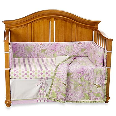 My Baby Sam Sweet Pea 4 Piece Crib Bedding Set Bed Bath My Baby Sam Crib Bedding