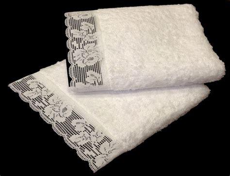 cenefas lisas rom 225 nticas toallas lisas confeccionadas con una puntilla