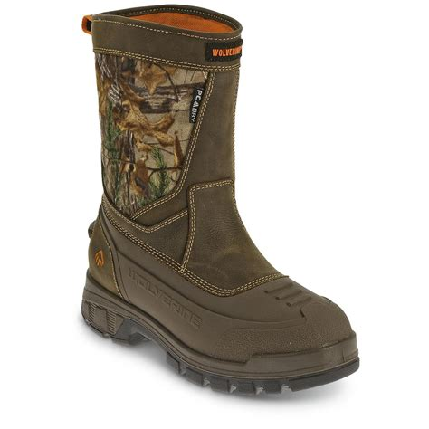 mens insulated pull on boots wolverine s jason epx insulated pull on boots
