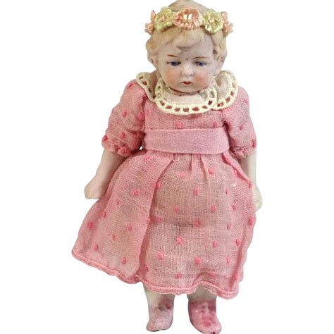 antique bisque german doll antique german all bisque mignonette doll from tantelinas