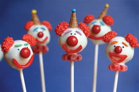clown cake pops by bakerella and cake pops cookbook contest reminder