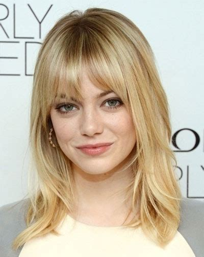 contemporary shoulderlength hairstyles 25 modern medium length haircuts with bangs layers for
