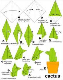 Origami Cactus - origami cactus origami
